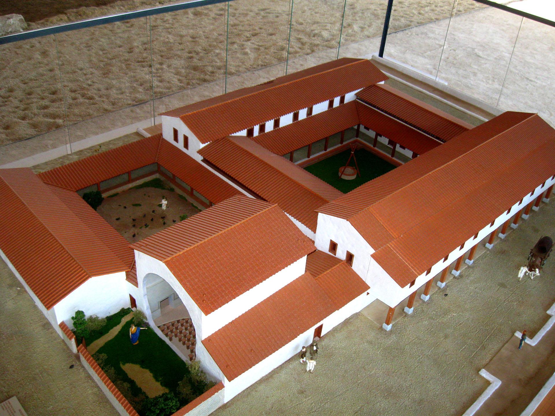 Aof maquettes domus d elusa sivu p le arch ologique for Domus address