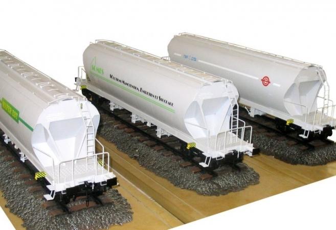 TMF-CITA</br> Wagons Céréaliers