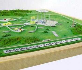 Centre de lancement soyouz a kourou   CNES