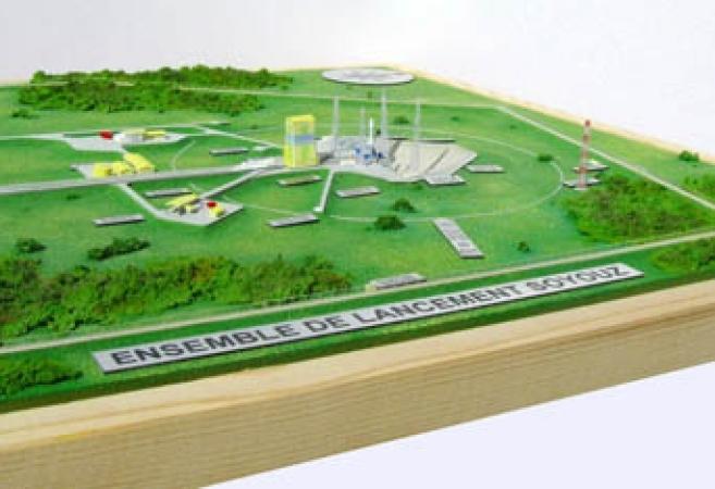 CNES Soyouz Launched Complex