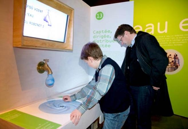 Muséum d'Histoire Naturelle Toulouse </br> Exposition : «Eau l'expo»