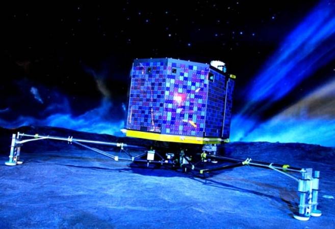 philae lander        Cité de l'Espace / CNES