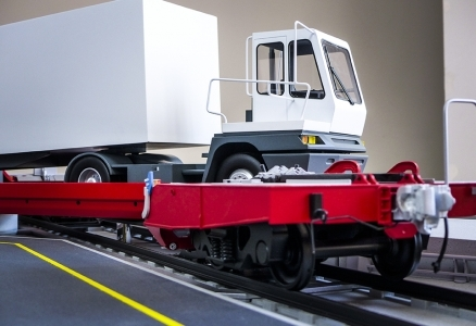 Lohr industrie </br> wagons ferroutage UIC et CN