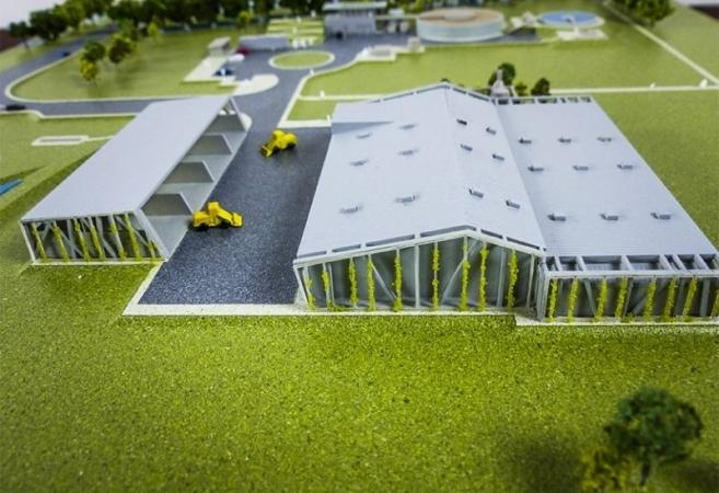 Sicoval </ br> Centre de tri sélectif &#038; station d&rsquo;épuration