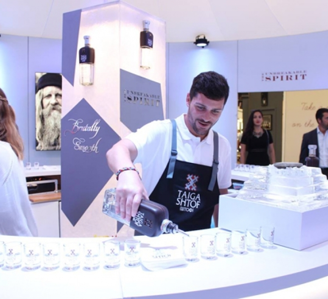 Imagin'expo </br> Taïga Vodka