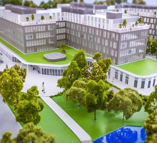 GA Smart Building /  Administrative headquarters Carrefour