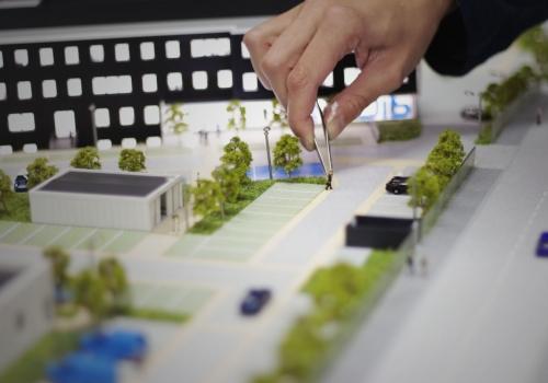 maquette, architecture, enedis, pitch promotion, maquette architecture, maquette réaliste