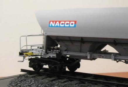 WAGON FANPS </br> Nacco rail